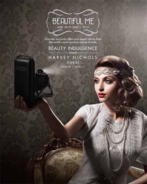 Harvey Nichols Beauty Campaign