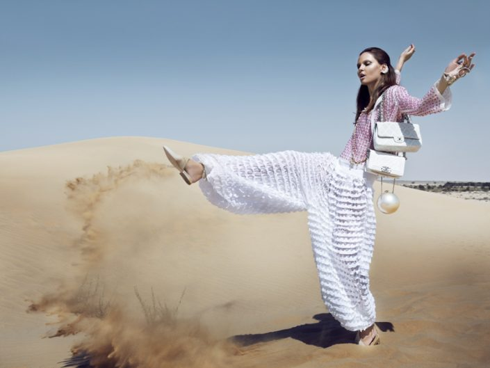 Chanel Cruise Advertorial