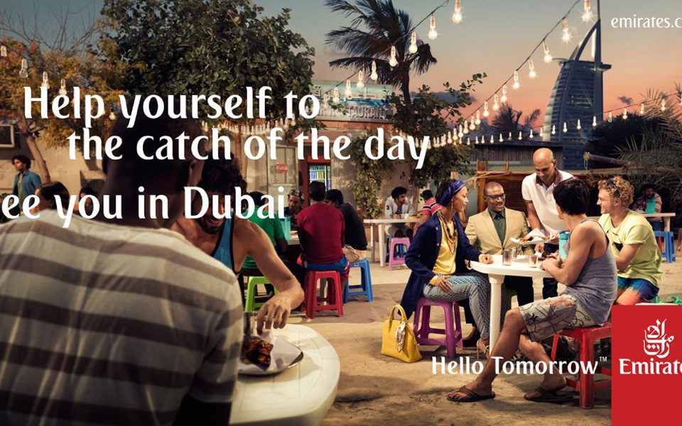 Emirates Airline Campaign