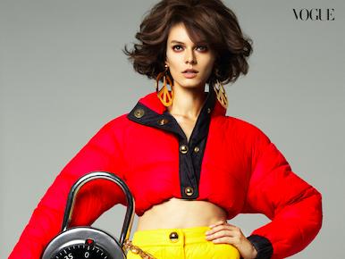 Vogue Arabia x H&Moschino